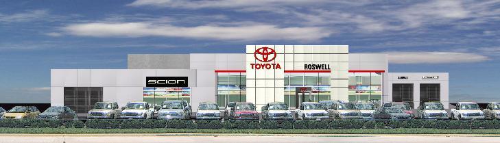 Jay Toyota   Columbus, Georgia New Facility / Rendering