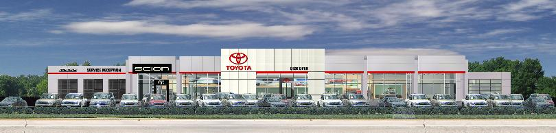Charming Dick Dyer Toyota   Columbia, South Carolina New Facility / Rendering