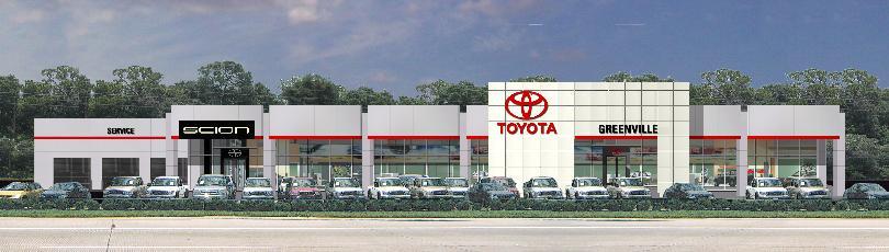 Dave Edwards Toyota   Spartanburg, South Carolina New Facility / Rendering